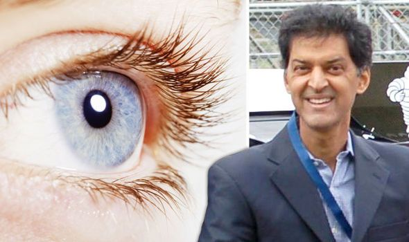 A BRITISH pensioner has become the first person to undergo revolutionary eye surgery aimed at curing blindness in millions of people.