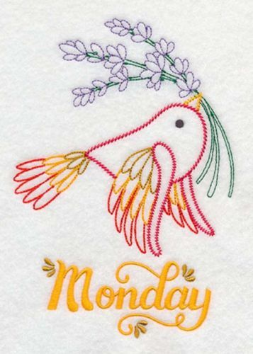Birds-and-Herbs-Days-of-the-Week-Embroidered-Flour-sack-Dish-and-Hand-Towels