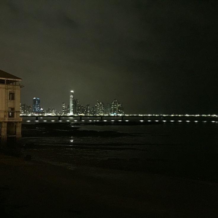 Vista de la Ciudad de Panamá desde  Casco Antiguo