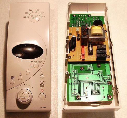 Плата управления DE94-00154N СВЧ-печи SAMSUNG ASSY CONTROL- BOX M1974R/BWT, WHT, 3RD-1.0, FISH2 Партномер DE94-00154N