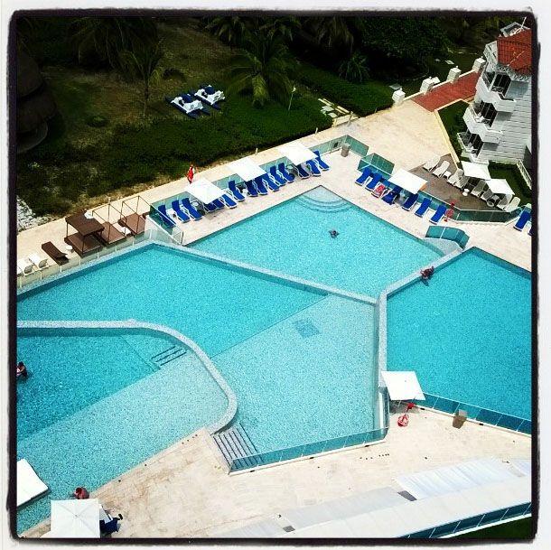 Piscinas del Hotel Las Américas, Cartagena