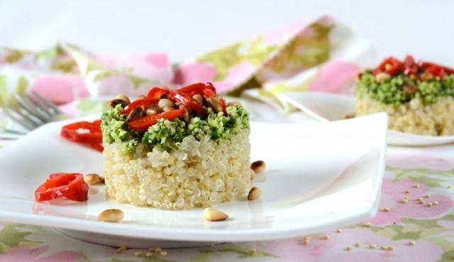 delicious & quick quinoa raw vegan recipe