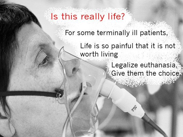 euthanasia murder essay This article introduces the debate around euthanasia should human beings have the right to decide on issues of life and death.