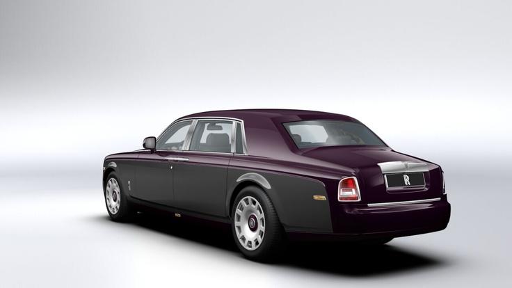 Rolls Royce Phantom LWB Anthracite/Twilight Purple
