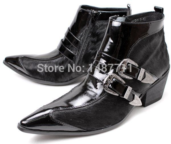 Cheap Men's Boots on Sale at Bargain Price, Buy Quality shoe accessorie, shoe boot laces, shoe plastic from China shoe accessorie Suppliers at Aliexpress.com:1,Shaft:1 inch 2,Boot Height:Ankle 3,Process:Adhesive 4,Decorations:Buckle 5,Leather Style:Soft Leather