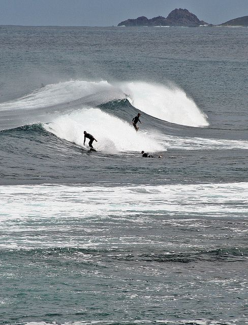 ♥ Surfers at Yallingup, near Margaret River ~ Western Australia
