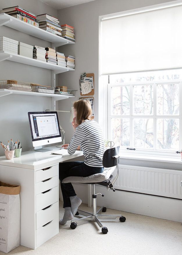 Workspace: My light home office by at{Cate St Hill