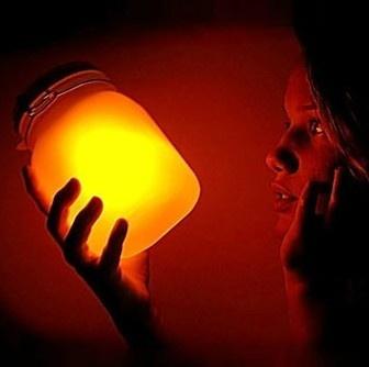 Sun Jar (solar powered) - by Anonymous