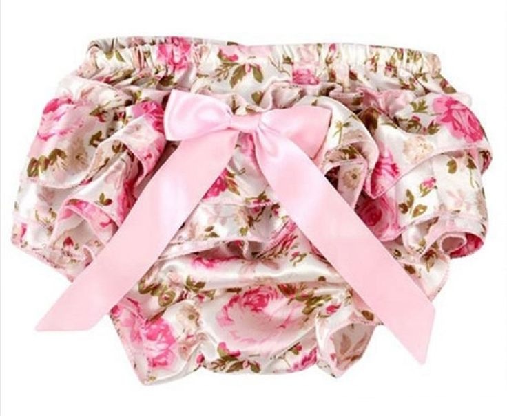 Baby girl pink floral ruffle bloomers SIZE 3-6 Months by Crystalsandbubz on Etsy
