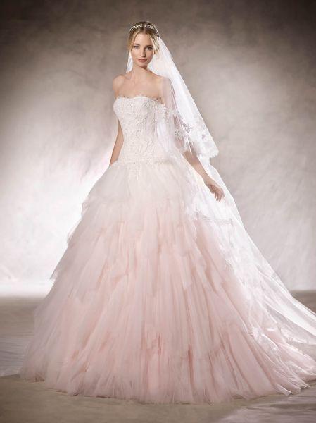 Fabulous Hachel La Sposa Princess Wedding DressesRuffle