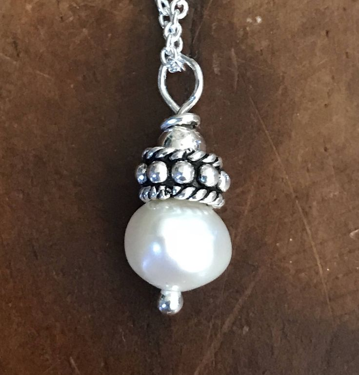 A personal favorite from my Etsy shop https://www.etsy.com/listing/462129088/pearl-necklace-white-freshwater-pearl