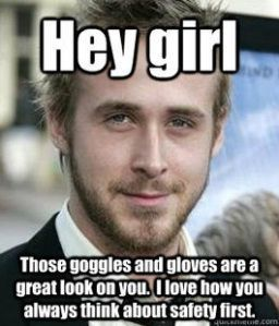 Memes to review lab safety #HeyGirl #LabSafety