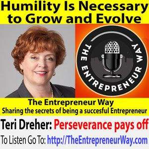 To find out more click this link =>> http://theentrepreneurway.com/podcast/406-humility-is-necessary-to-grow-and-evolve-with-teri-dreher-founder-and-owner-of-north-shore-patient-advocates/  Teri Dreher is a career ICU nurse, owner of Chicago based NShore Patient Advocates, a public speaker and author of Patient Advocacy Matters, a consumers' guide to modern healthcare, rich with stories that inspire, shock, teach and challenge all patients to step up and become... @teridreher @dreher0608