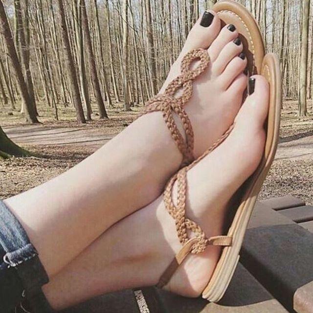 Beautiful Milf Anal Feet