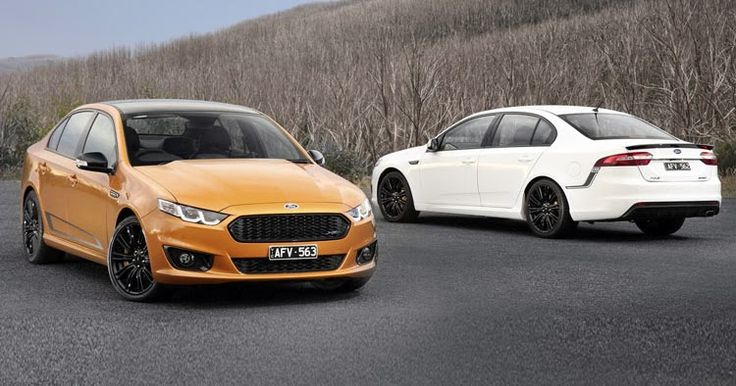 Ford's New 2016 496HP XR6 & 536HP XR8 Sprint Are The Last Falcons #Australia #Ford