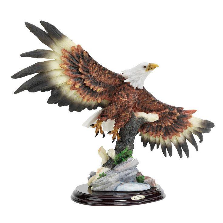 Design Toscano Wingspan Bald Eagle Statue