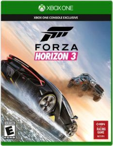 Forza Horizon 3 Standard Edition includes the full game and the Forza Hub App Explore Australia, the Horizon Festival's largest, most beautiful and diverse
