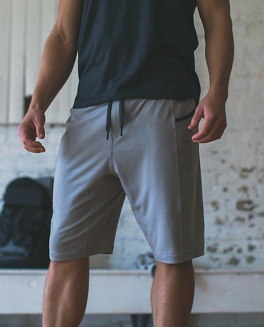 Lululemon For The People Short - heathered medium grey