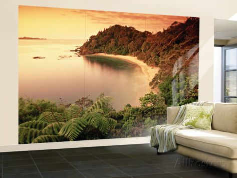Whale Bay, Northland, New Zealand Wall Mural – Large by Doug Pearson at AllPosters.com