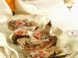Ricette di Cucina :Ostriche allo Champagne