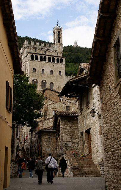Gubbio, Via Ambrogio Piccardi Italy