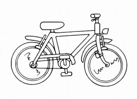 ausmalbild fahrrad malvorlage   Ausmalbild66   Malvorlagen ...