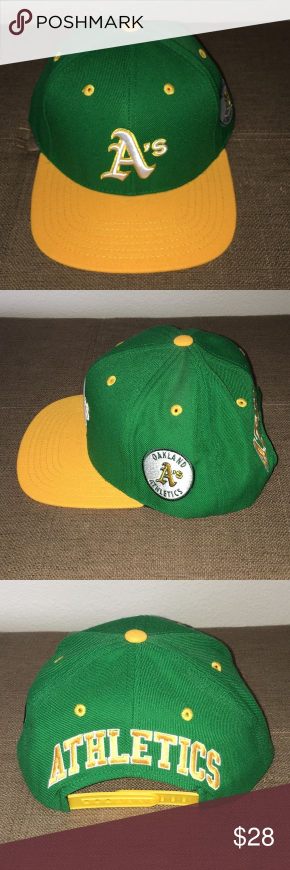Oakland A's Throwback Snap back Coopers Town A's Men's Fitted Baseball Cap Brand New. Worn once, excellent condition. Other