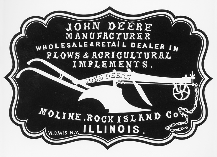 the deere   company logo from the from the company s 1855 john deere clip art and trailer john deere cliparts