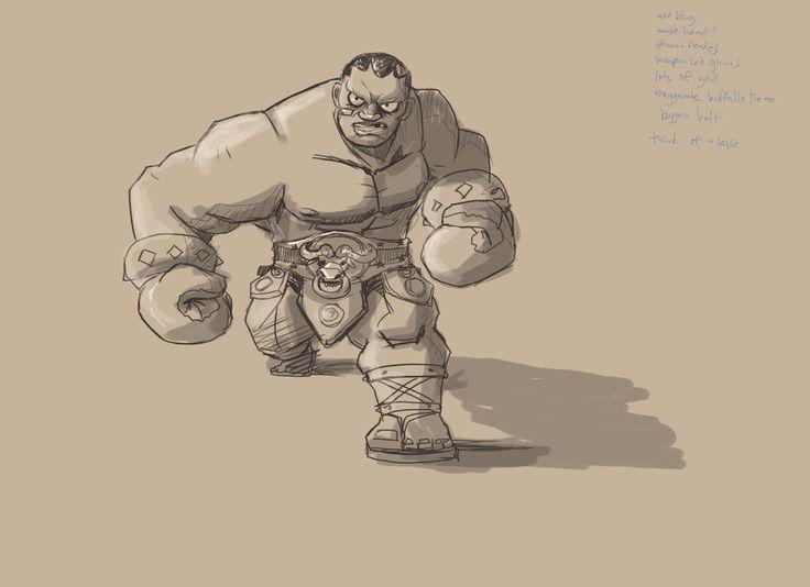 Street Fighter - Balrog - Cestus Gladiator by Pio Paulo Santana | Fan Art | 3D | CGSociety