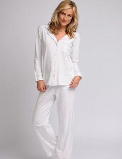Women's Pajamas, Nightshirts, Gowns, & Cashmere Robes : Elizabeth Cotton Luxury Pajamas and Sleepwear