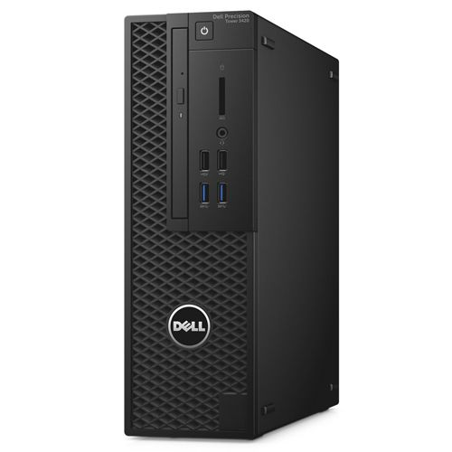 Dell Precision T3420 SFF i5-7500 16G 1TB K620(2G) Win10Pro 3Y Specifications CPU Intel® Core™ i5-7500 (Quad Core, 6MB Cache, 3.4GHz, Turbo upto 3.80GHz) Chipset Intel® C236 Chipset...