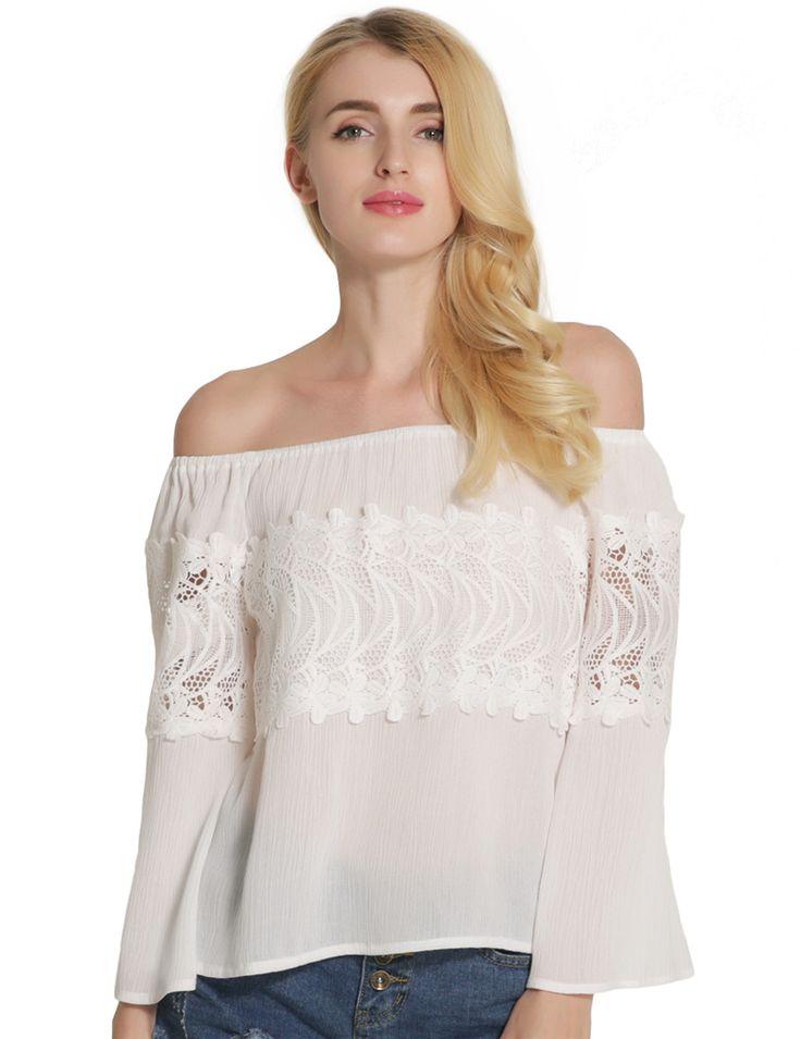 2017 Rugod New arrival Spring women full Sleeve Slash neck T-Shirt Fashion Off Shoulder Strapless T-shirt female