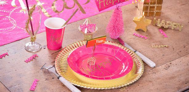 Décoration anniversaire fille Anniversaire Happy avec VegaooParty