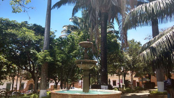 Parque Principal - Barichara Santander