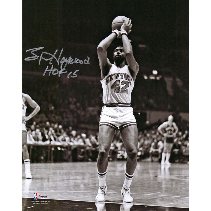 Spencer Haywood New York Knicks Fanatics Authentic Autographed 8'' x 10'' Shooting Photograph with HOF 15 Inscription - $59.99