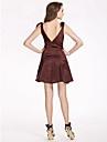 FANTINE - Robe de Demoiselle d'Honneur Satin - USD $ 99.99