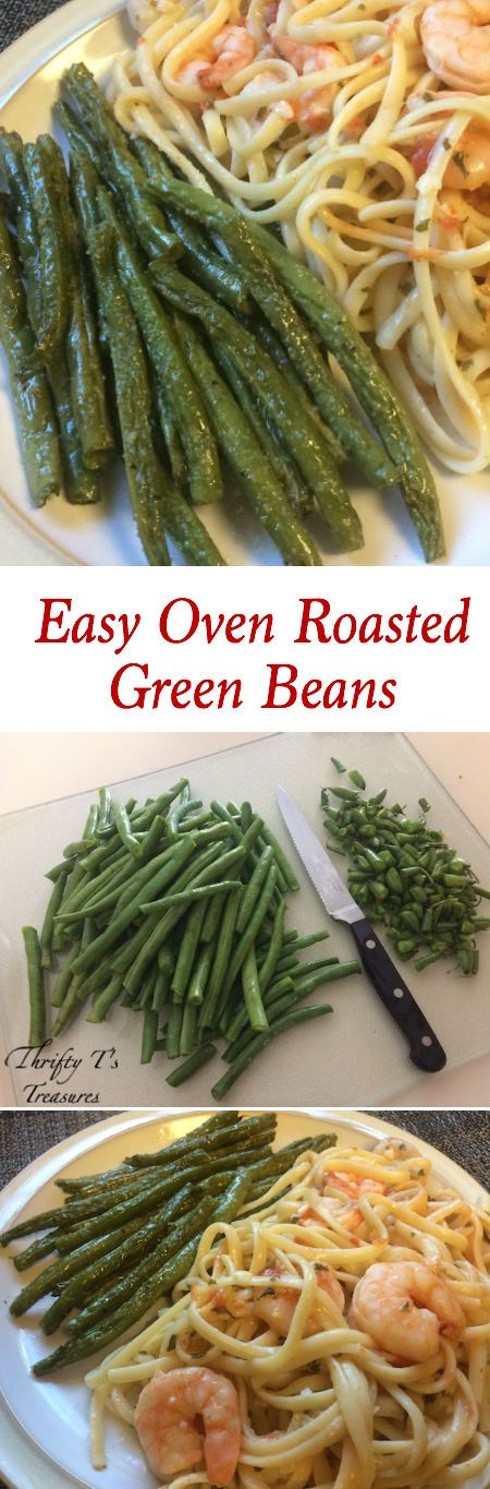 Who said that baked veggies can't be healthy and simple?! This Easy Oven Roasted Green Beans Recipe is made with fresh veggies and a few other household ingredients. So turn on that oven, get your families in the kitchen, and as you learn how to cook this recipe it'll likely become one of your favorite side dishes! | Brought to you by Michael Angelo's™