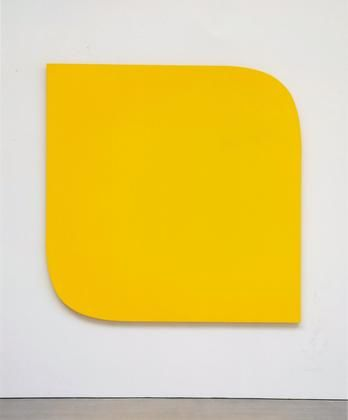 """Ellsworth Kelly: Yellow Piece, 1966. Synthetic polymer paint on canvas. Dimensions 75 x 75"""" (190.5 x 190.5 cm). Collection Museum of Modern Art, New York. Credit Gift of the artist and The Riklis Collection of McCrory Corporation (both by exchange)."""