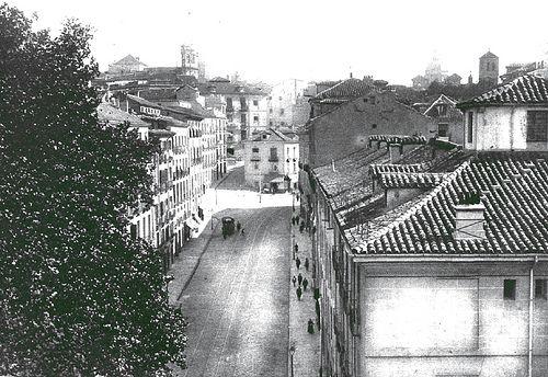 1928. Calle de Segovia | Flickr: Intercambio de fotos