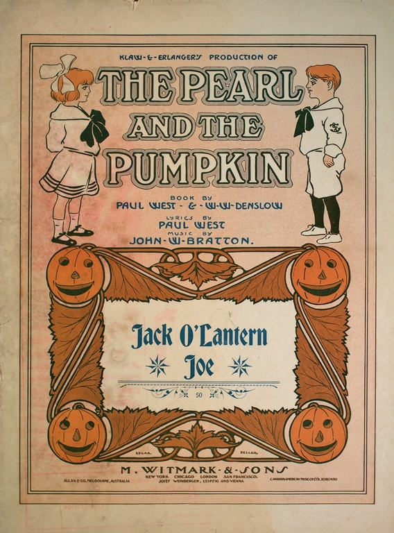 Love the cover of this Halloween sheet music!  https://jscholarship.library.jhu.edu/handle/1774.2/2085/browse?value=Halloween=subject