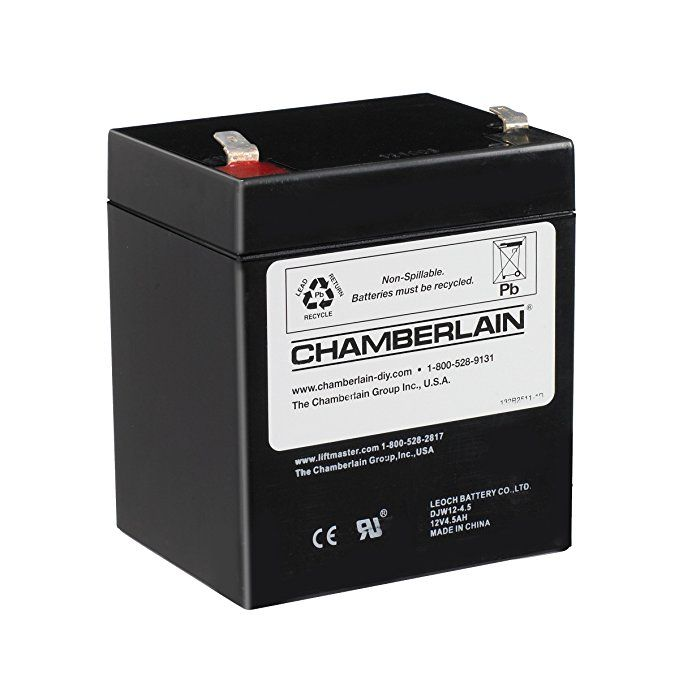Chamberlain Liftmaster Craftsman 4228 Replacement Battery For Battery Backup Equipped Chamberlain Garage Door Liftmaster Garage Door Garage Door Replacement