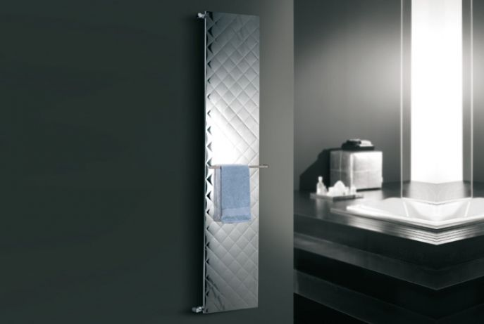 quilt verticale - Deltacalor srl - Towel Warmer Decorative Radiators Heated Towel Rails