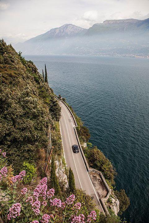 Озеро Гарда в Италии.