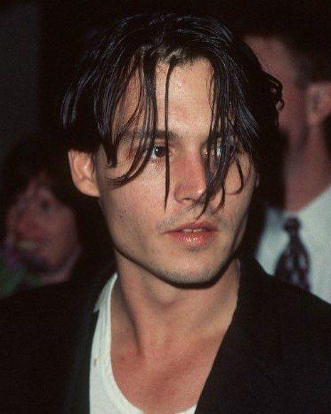 Imagem De Nadya Johnny Depp Hairstyle Johnny Depp Young Johnny Depp