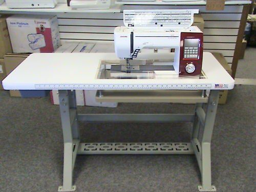 Sew Perfect Original Table shown with Janome Horizon 7700