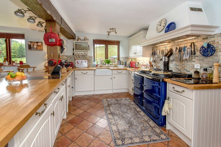 This thatched Somerset cottage for sale is bursting with rustic character