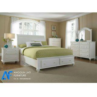 Kamar Tidur Set Minimalis Putih Mewah Modern