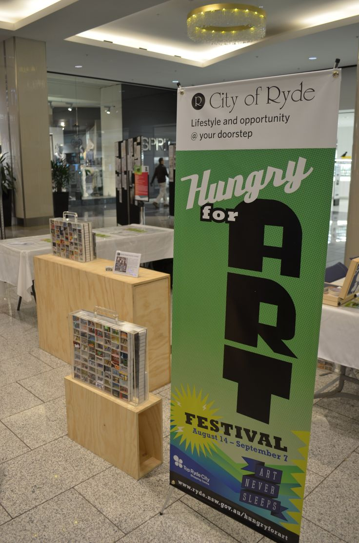 Local artists display their handiwork at the Hungry For Art Festival in Top Ryde City. #Matchbox #Art #HungryForArt #Event #Ryde #TopRyde #TopRydeCity #CityofRyde