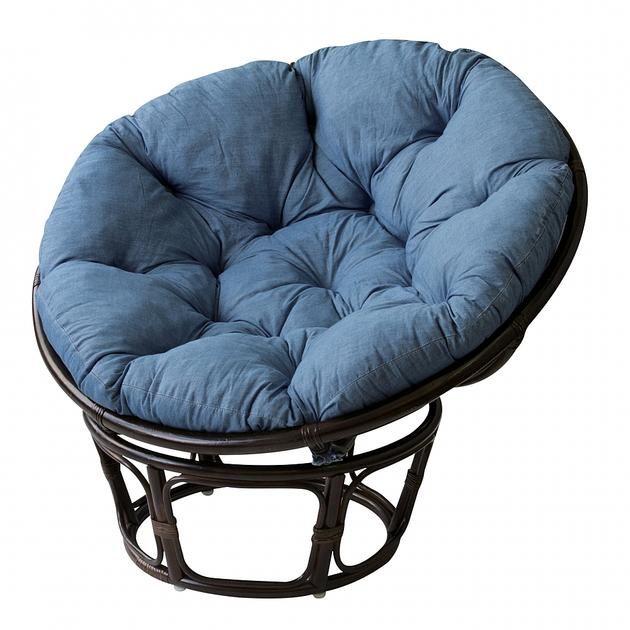 ニーチェ_西海岸テイストデニム風 ローチェア(座椅子・ローチェア ... 脚はラタンです。