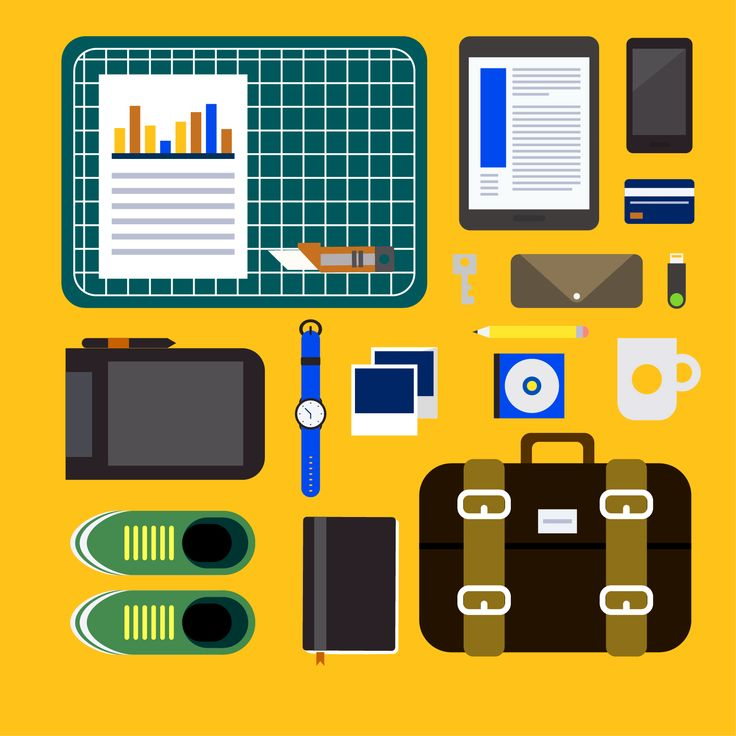 Personal Belonging Icons